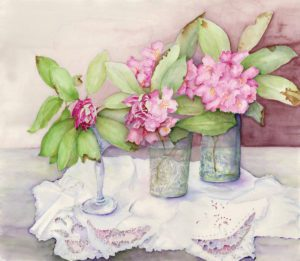 Watercolor Painting by Susan Eckstein